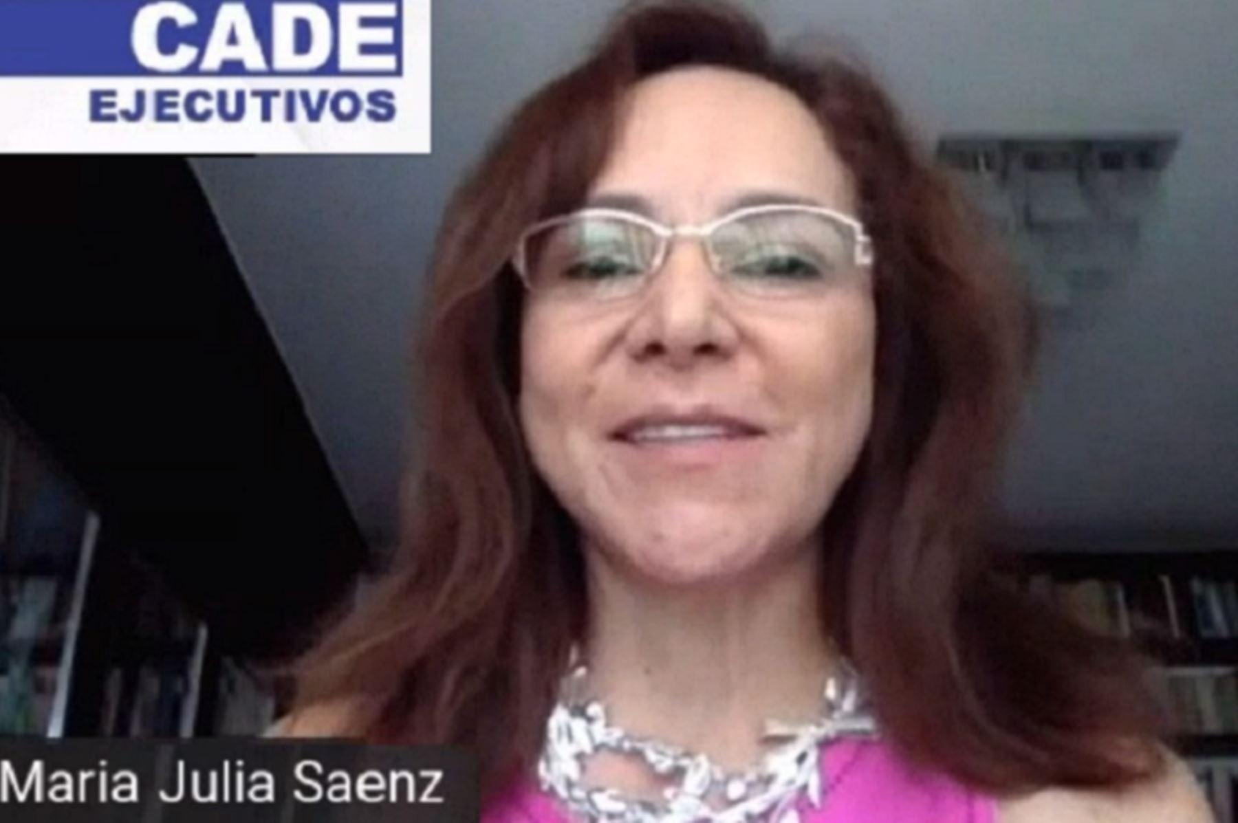 María Julia Sáenz, directora Legal & Asuntos Corporativos de Backus. Foto: Cortesía.