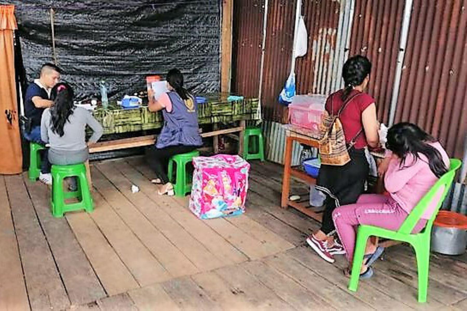 Intervenciones para prevenir el delito de trata de personas en la región Madre de Dios. Foto: ANDINA/Difusión