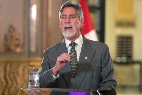 Presidente Francisco Sagasti, participa en la Conferencia Anual de Ejecutivos CADE