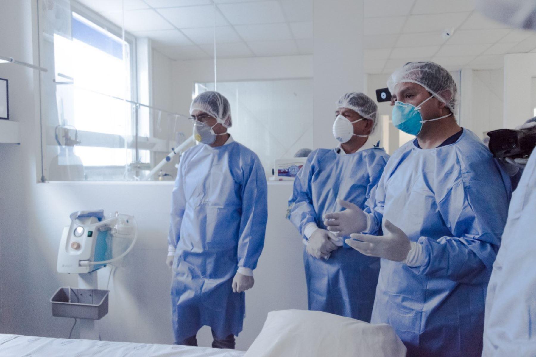 Autoridades de salud de Cusco advierten incremento de contagios de coronavirus (covid-19) y una mayor demanda de camas UCI. ANDINA/Difusión