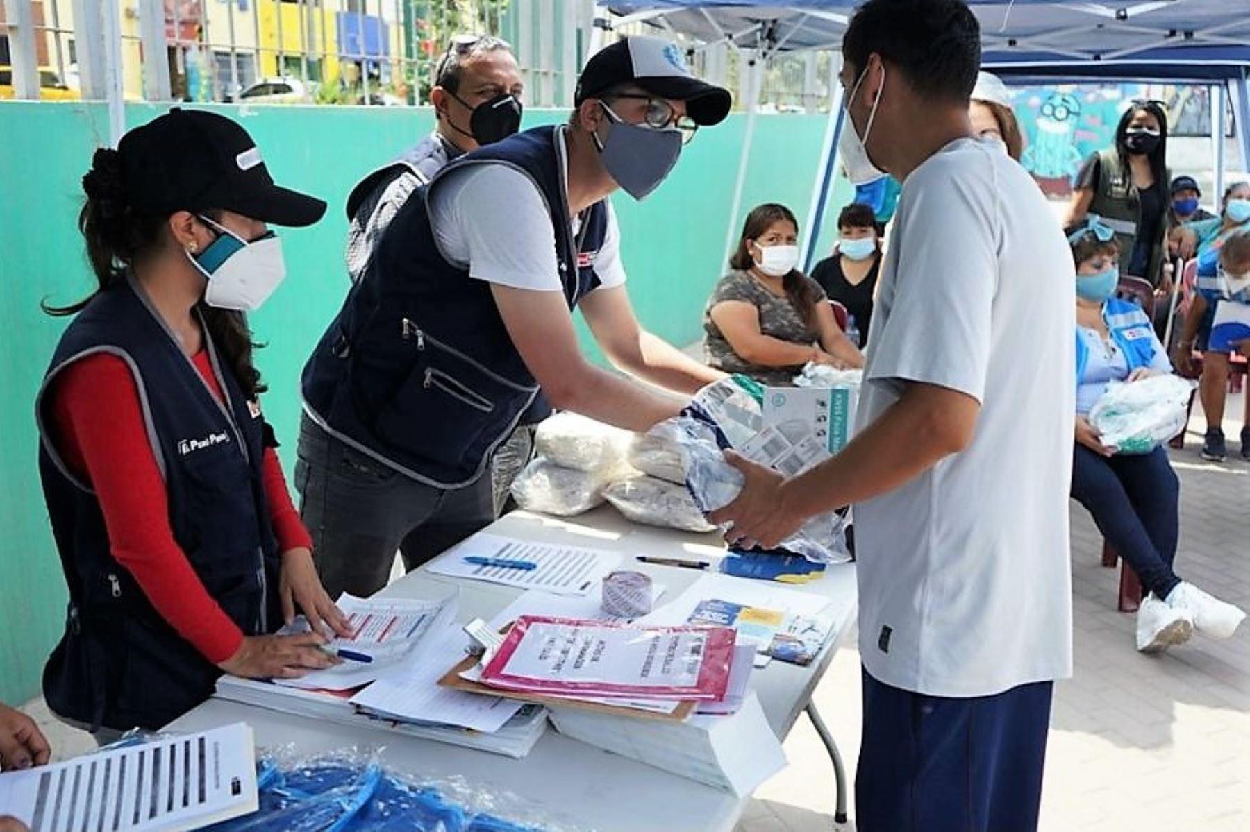 El Ministerio de Salud distribuye pulsioxímetros para un seguimiento cercano y oportuno de casos confirmados de covid-19. Foto: ANDINA/Difusión