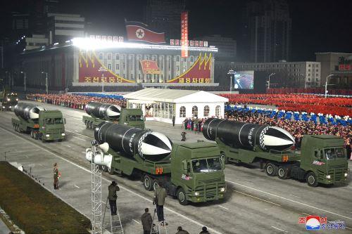Algunos analistas apuntan que Corea del Norte está aprovechando este congreso para enviar un mensaje a la próxima administración estadounidense. Foto: AFP