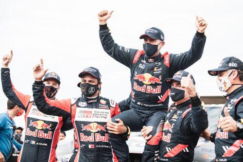 Peterhansel se consagra y gana su 14 Dakar.