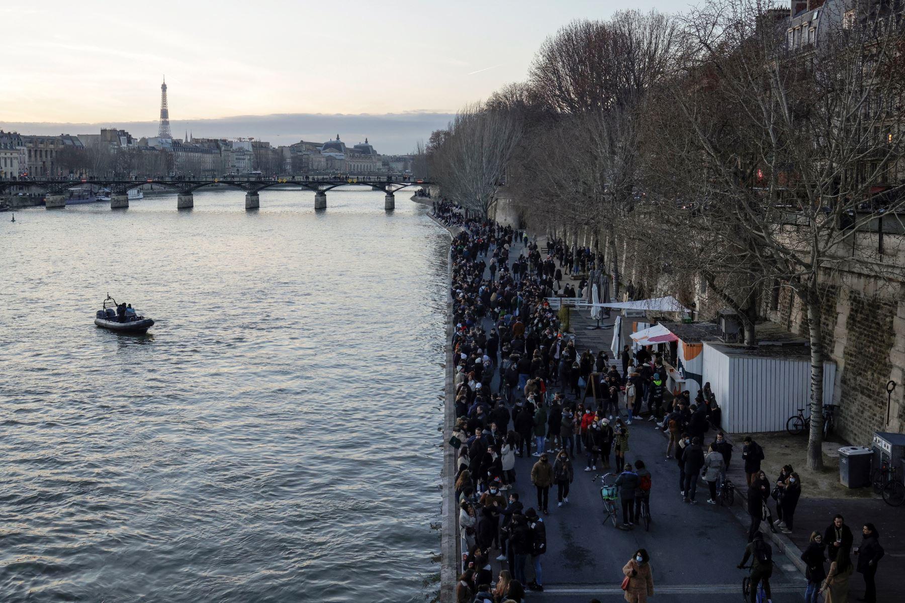 Francia no descarta un nuevo confinamiento si la situación empeora. Foto: EFE