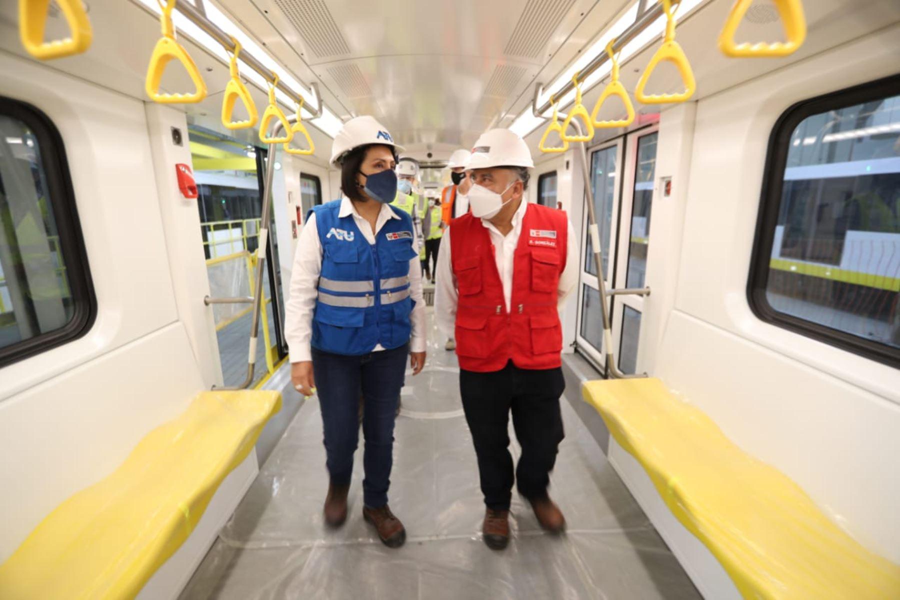 MTC: Línea 2 del Metro de Lima trasladará a un millón de personas diariamente