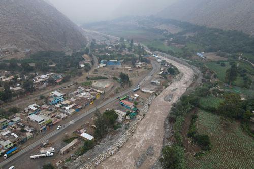 La Autoridad para la Reconstrucción con Cambios inaugura 6 km de defensas ribereñas de los ríos Santa Eulalia y Rímac
