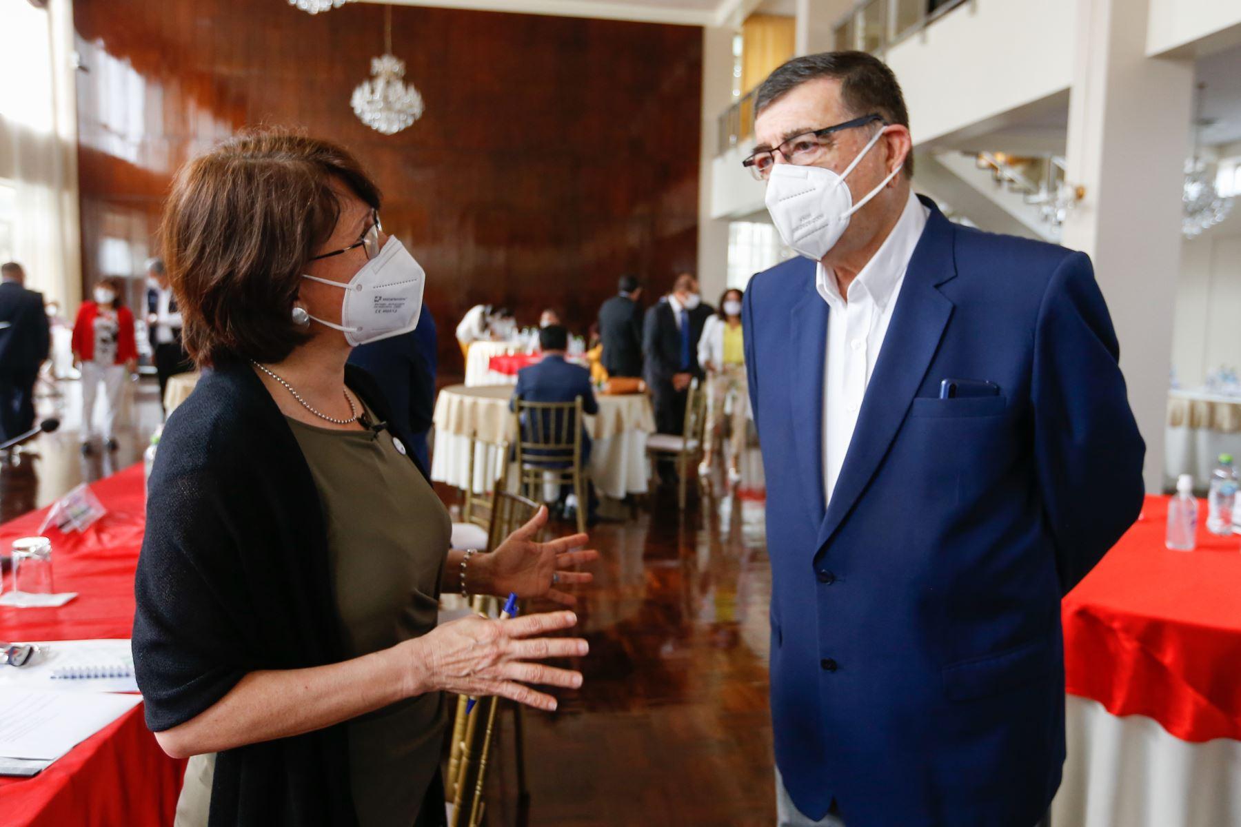 Ministra de Salud Pilar Mazzetti participa en la XV Reunión Extraordinaria de la Comisión Intergubernamental de Salud. Foto: Minsa
