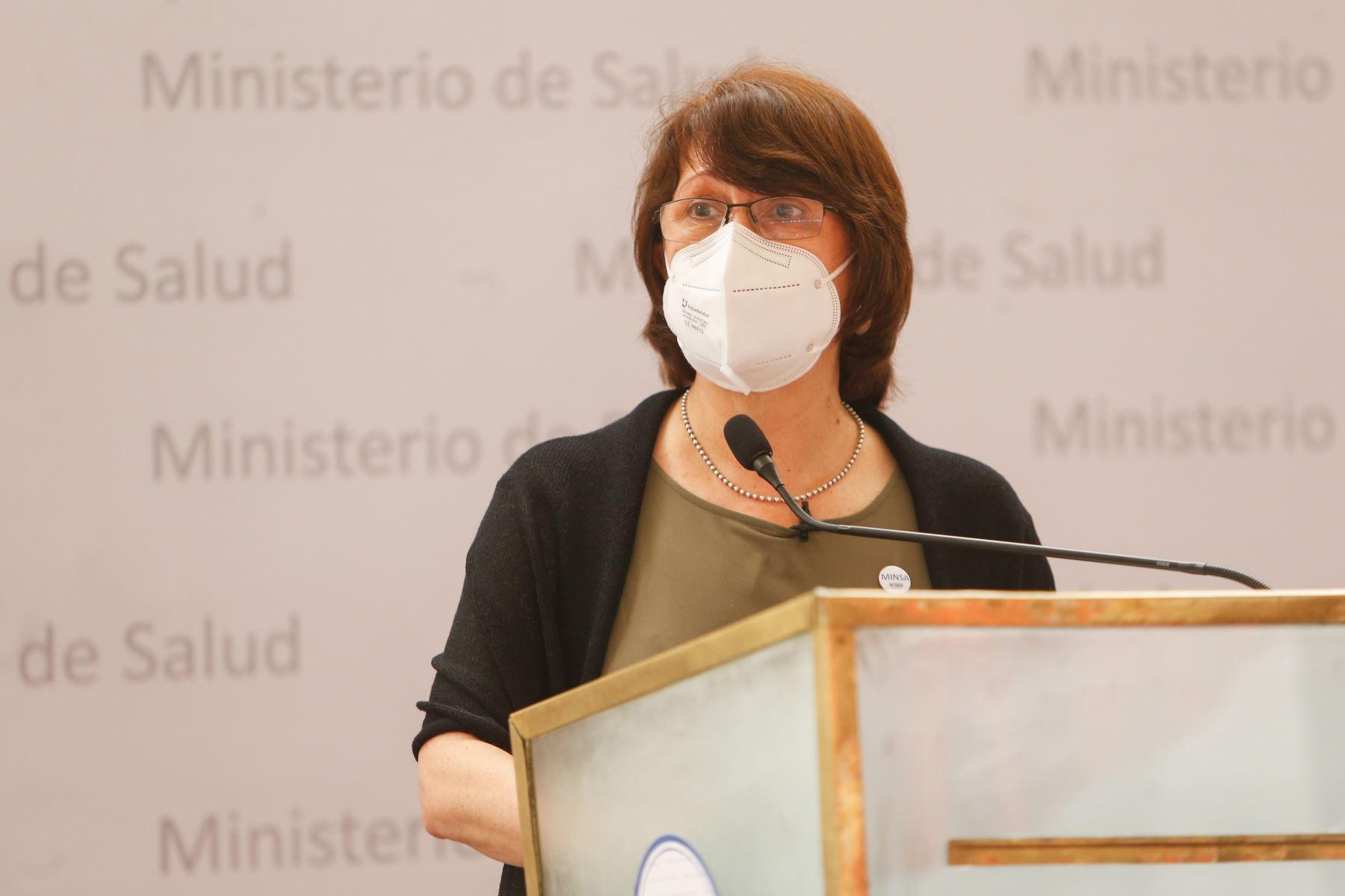 Ministra de Salud Pilar Mazzetti participa en la XV Reunión Extraordinaria de la Comisión Intergubernamental de Salud. Foto:ANDINA/Minsa