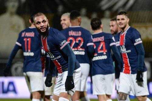 PSG gana 1 a 0 al Angers SCO en la Liga 1 de Francia