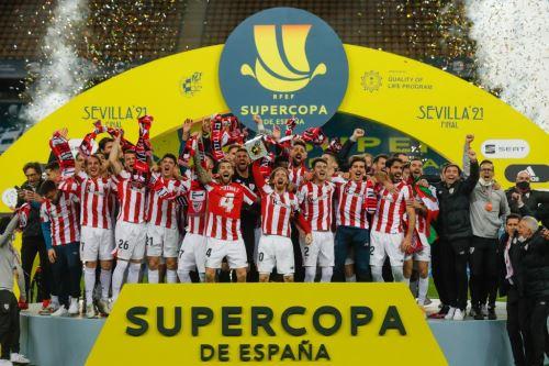 Athletic de Bilbao venció 3-2 al Barcelona y se consagró campeón de la Supercopa de España