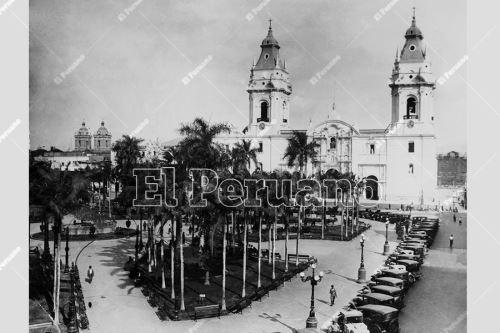 Imágenes históricas de Lima por su 486 aniversario