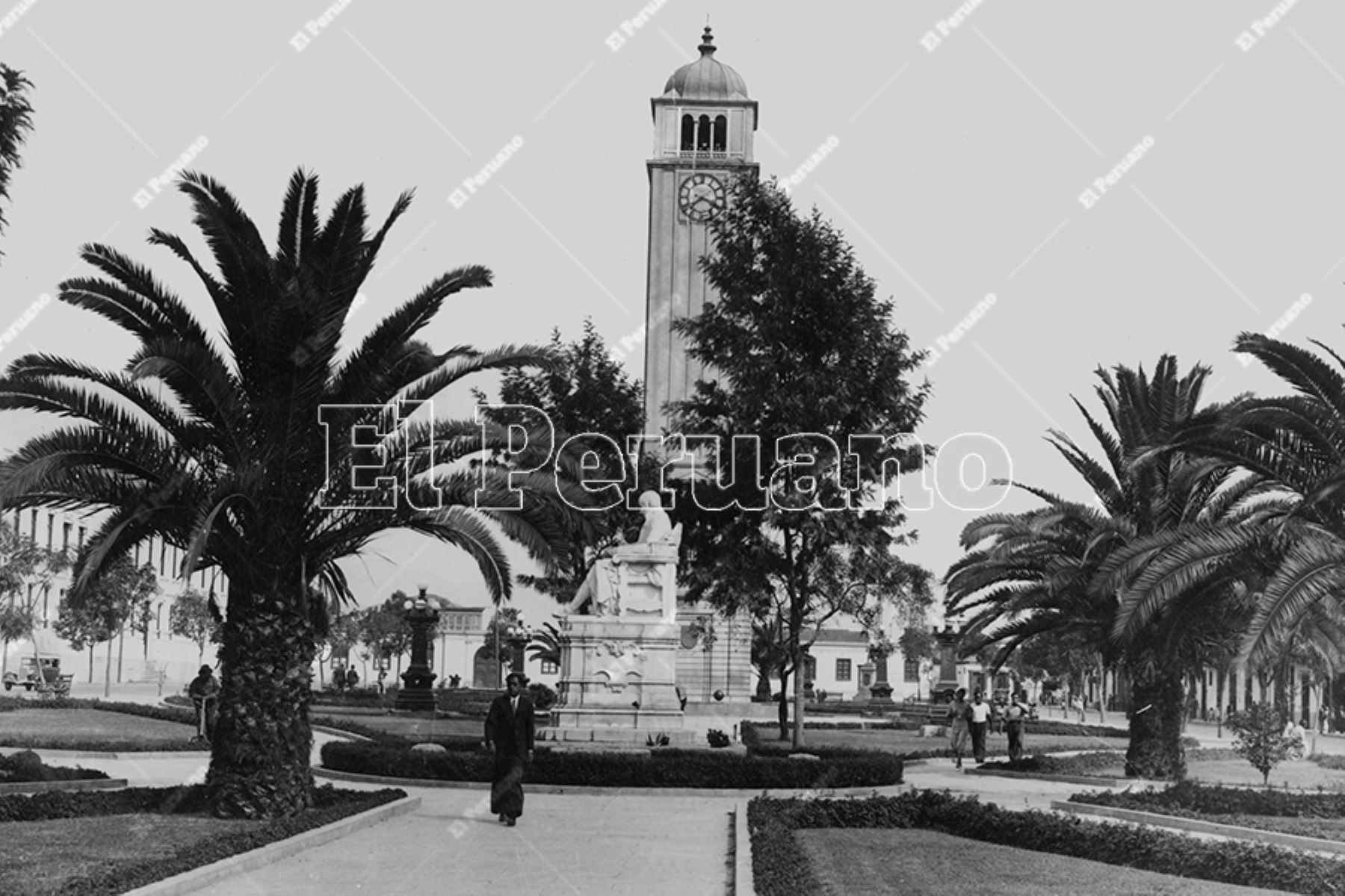 Parque Universitario (1950). Foto: Archivo Histórico de El Peruano