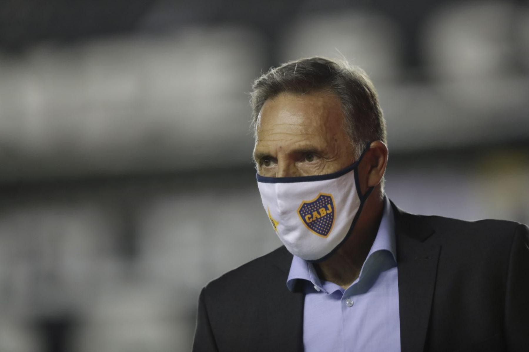 Técnico Russo dice que Boca Juniors le pide ir por más   Noticias   Agencia  Peruana de Noticias Andina