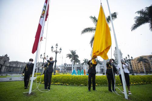 Alcalde Jorge Muñoz encabezó ceremonia por el 486 aniversario de Lima