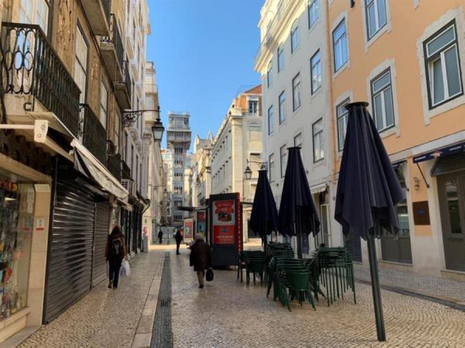 Portugal reinicia su confinamiento con los hospitales al borde del colapso. Foto: EFE