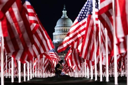 Preparativos en Washington para la toma de posesión de Joe Biden, como presidente de los Estados Unidos