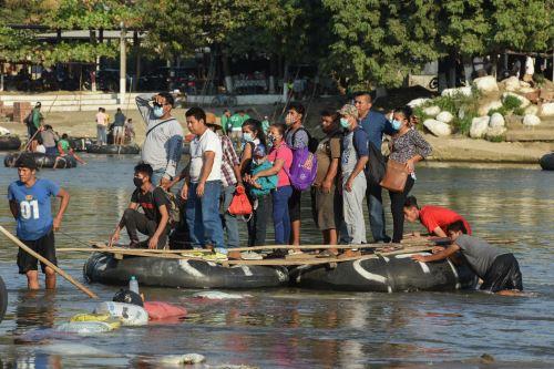 Nuevas caravanas de migrantes salen de Honduras para llegar a Estados Unidos