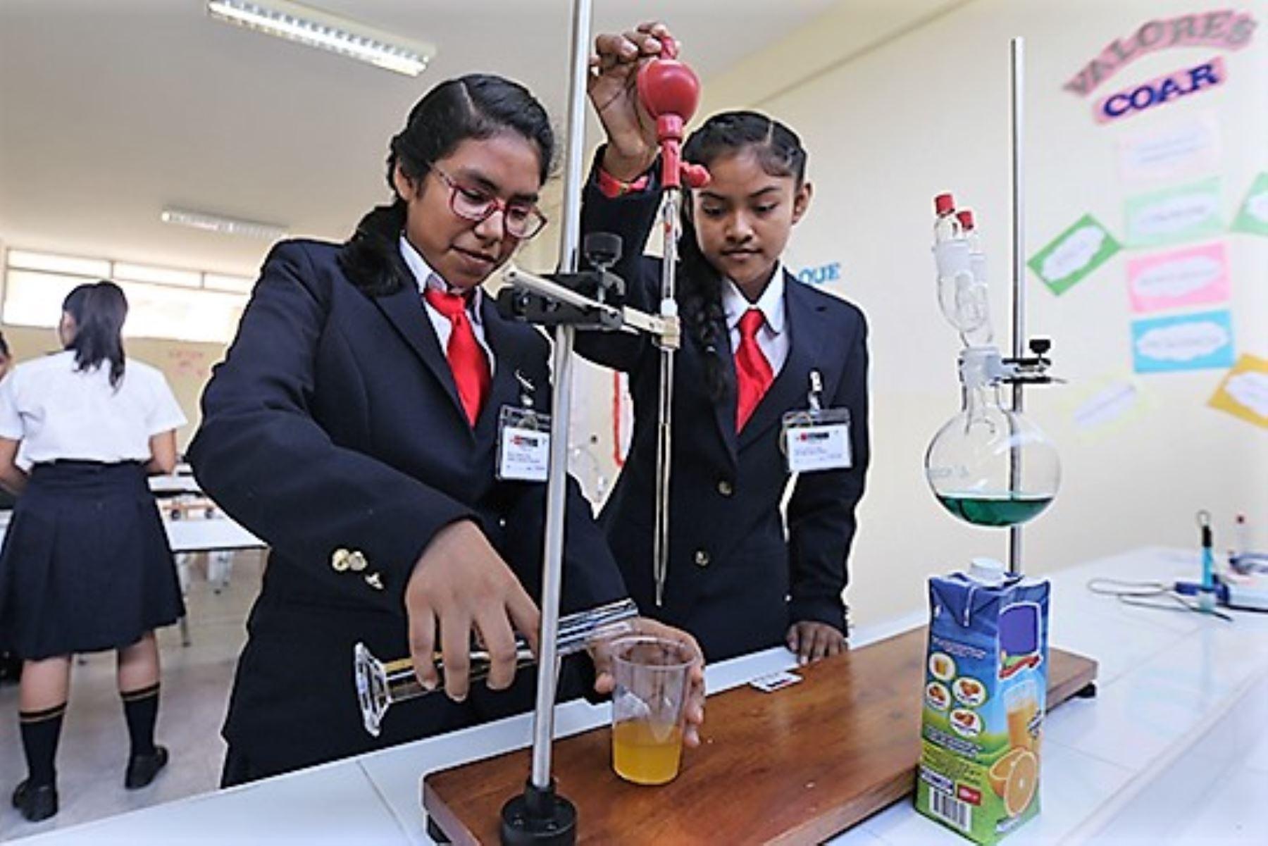 Los 25 COAR que funcionan en todo el país mantendrán su alumnado durante el 2021, aseguró el Ministerio de Educación.