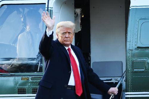 Donald Trump se despide de la Casa Blanca