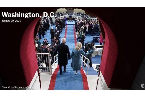 Joe Biden: Así informa la prensa mundial sobre la histórica juramentación como presidente de los Estados Unidos