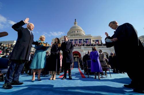 Joe Biden presta juramento como 46º presidente de los Estados Unidos