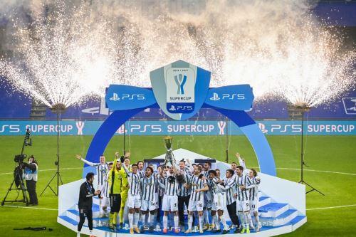 Con gol de Cristiano Ronaldo, Juventus ganó la Supercopa de Italia tras vencer 2-0 a Napoli