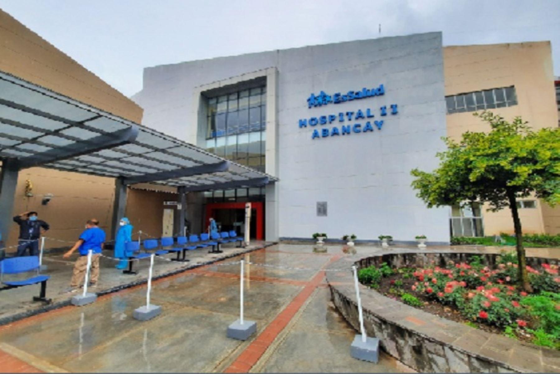 A la fecha, las ocho camas con las que cuenta la Unidad de Cuidados Intensivos del hospital II Abancay de encuentran ocupadas.
