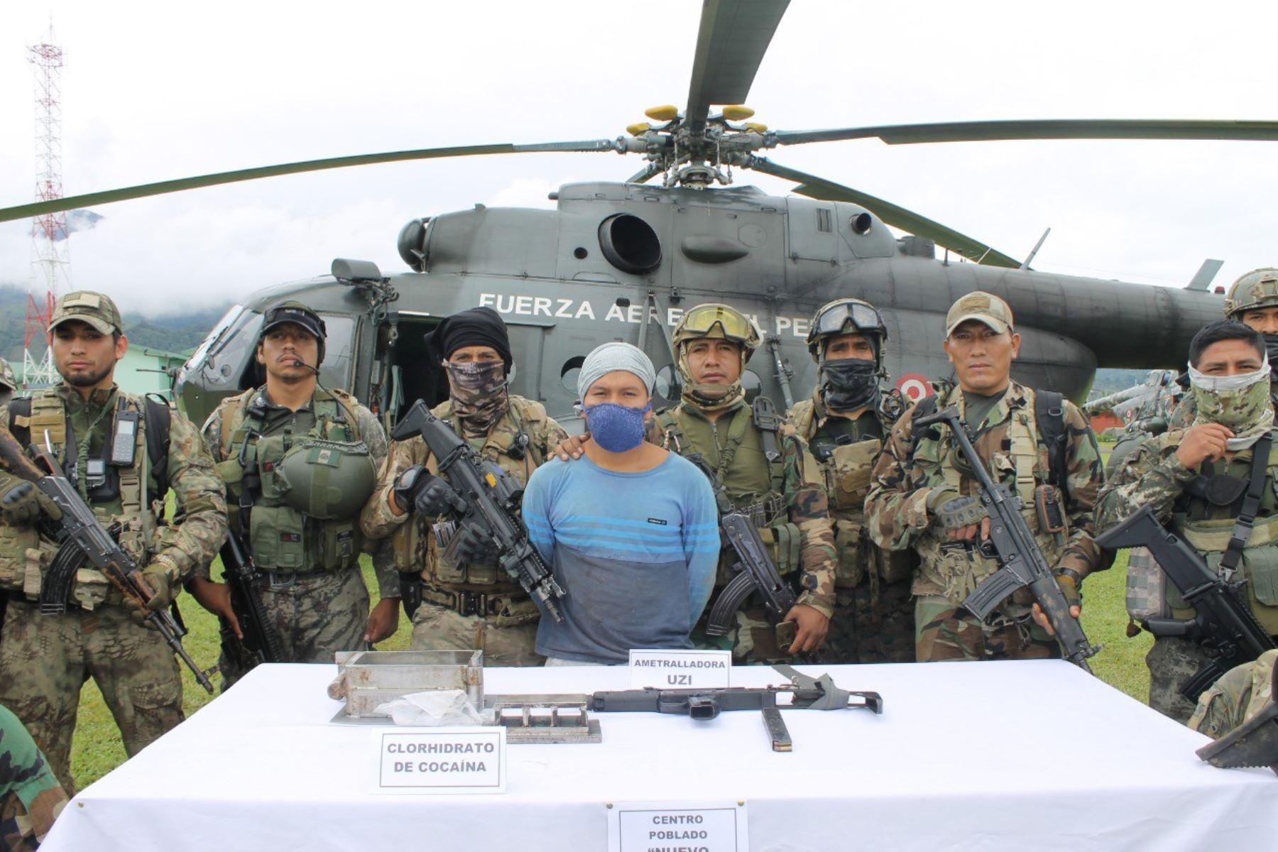 vraem-fuerzas-armadas-y-policia-destruyen-laboratorio-de-droga-en-ayacucho