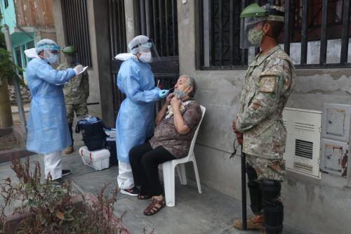 MINDEF supervisa una nueva intervención de la operación TAYTA en San Juan de Lurigancho