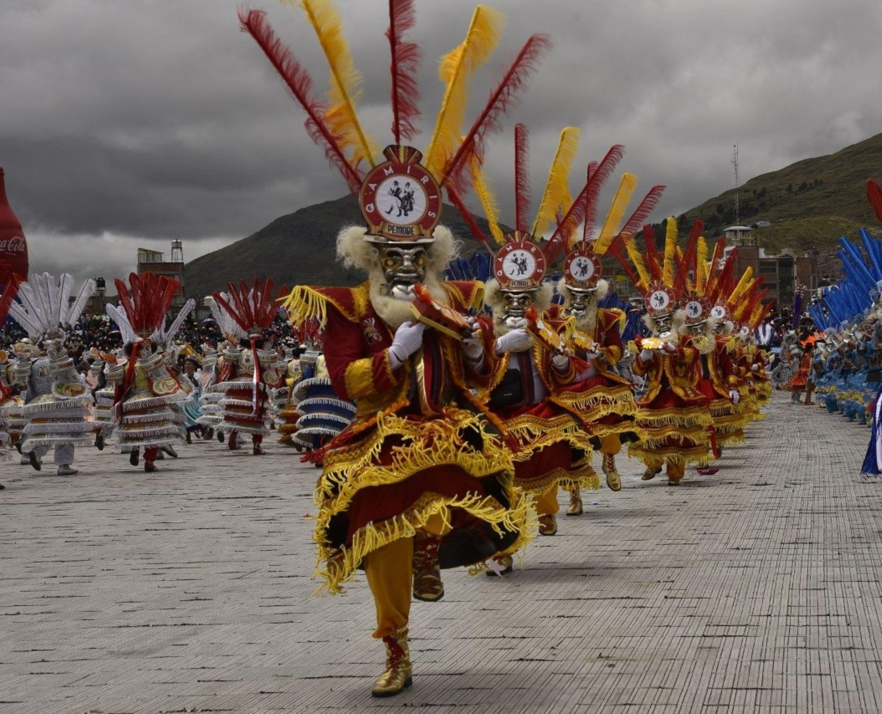 El coronavirus obliga a Puno a suspender toda actividad de la tradicional Festividad de la Virgen de la Candelaria, incluyendo la fiesta virtual. Solo se realizarán ceremonias litúrgicas en honor a Mamacha Candelaria.  ANDINA/Difusión