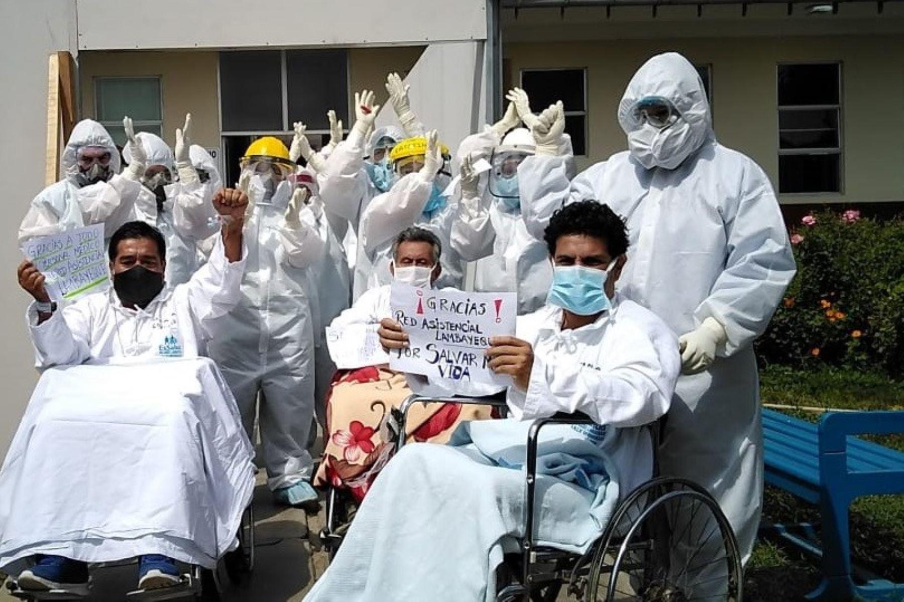 Lambayeque no reporta fallecidos por covid-19 en últimas 48 horas y han disminuido también los casos. Foto: ANDINA/difusión.
