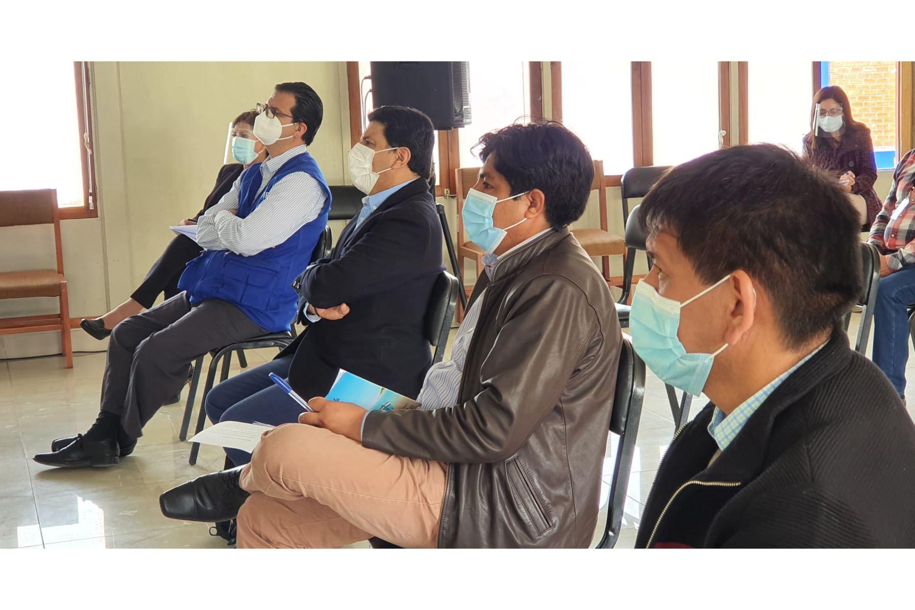 El Gobierno Regional de Ancash, decidió solicitar la ampliación del convenio con la Organización Panamericana de la Salud (OPS) y el Programa Mundial de Alimentos como aliado estratégico en la lucha contra la pandemia del covid 19. Foto: Gobierno Regional de Ancash