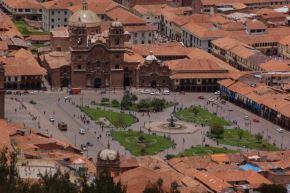 Plaza de Armas de Cusco. ANDINA/Difusión