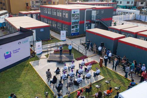 """El alcalde de Lima presenta la """"Casa de Todos"""" permanente"""