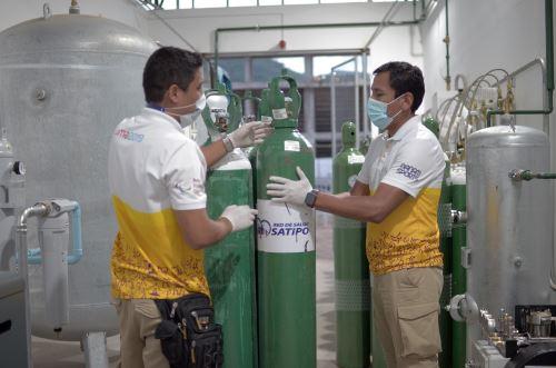 Coronavirus: Legado abastece oxígeno medicinal a los hospitales de la selva central