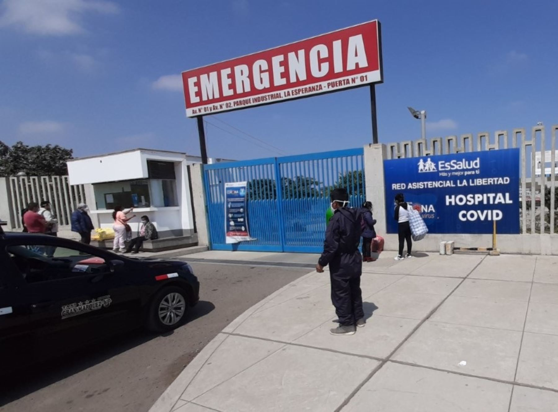 Región La Libertad reportó 19 fallecidos por coronavirus (covid-19) en las últimas 24 horas, el registró más alto en lo que va del año, informó la Geresa. ANDINA/Difusión