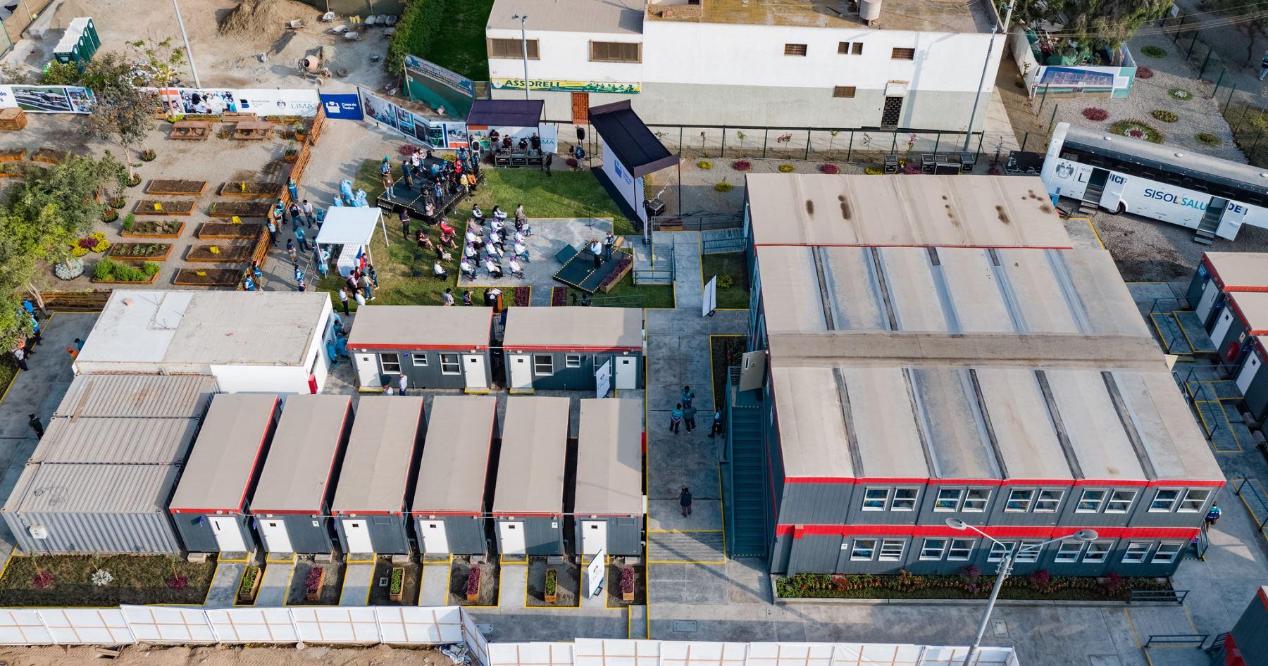 Recinto cuenta con 40 habitaciones dobles para acoger a personas sin hogar, quienes ingresarán a un programa de reinserción social. Foto: Difusión