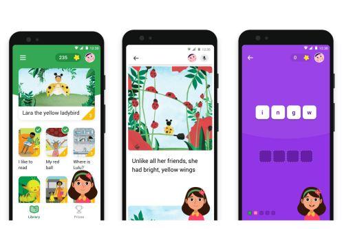 La app Read Along tiene más de 5 millones de descargas en todo el mundo en Google Play.