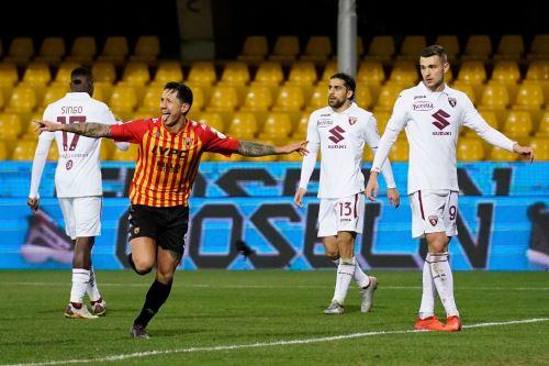 Con gol de Lapadula, Benevento empata 2 a 2 ante el Torino por la serie A de la  Liga Italiana