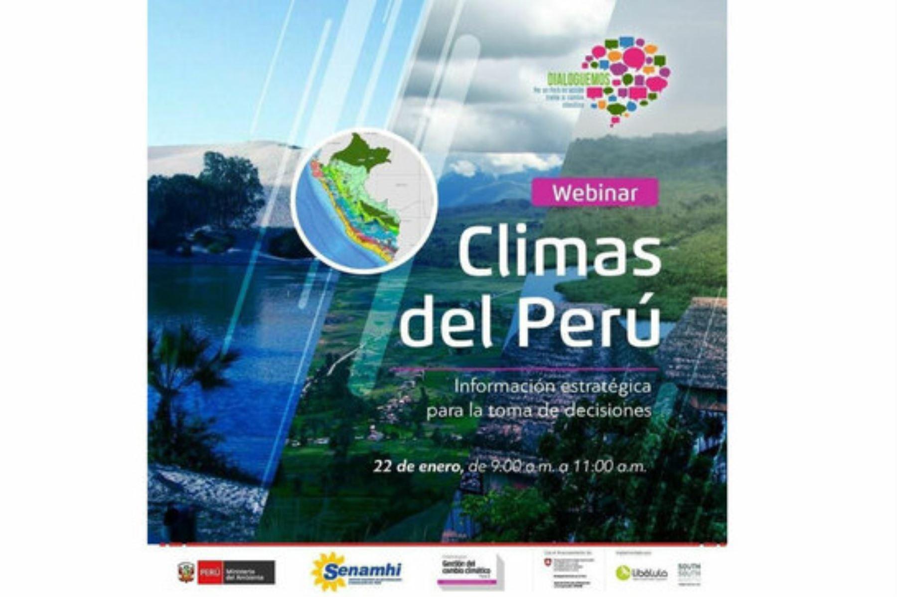 Perú cuenta con 38 climas, 11 más respecto a 1988, según mapa actualizado por el Minam y el Senamhi. Foto: ANDINA/Difusión