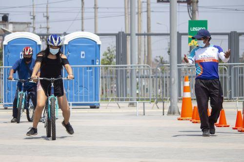 Municipalidad de Lima promueve Escuela de ciclismo urbano, en  Villa El Salvador