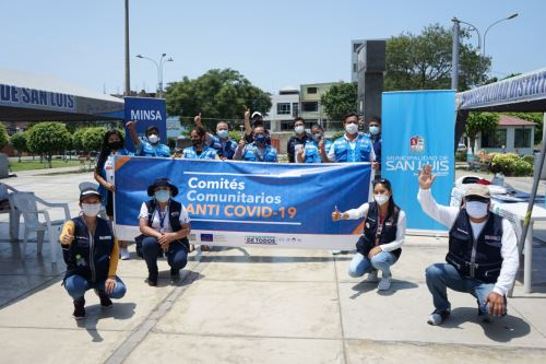 Minsa entrega pulsioxímetros y equipos de protección a Comités Comunitarios Anti Covid de San Luis