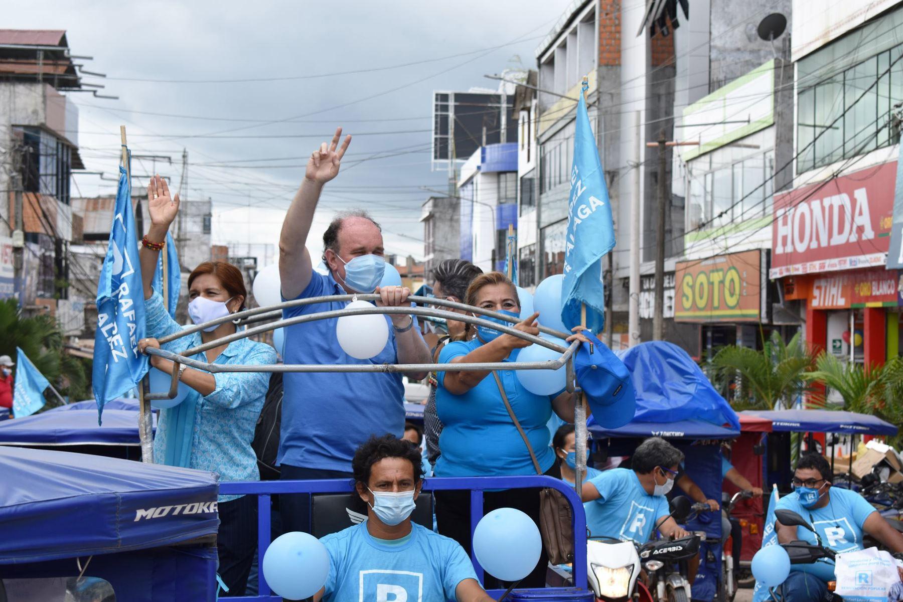 Plan de gobierno de Rafael López Aliaga contempla eventual reducción de ministerios. ANDINA/Difusión