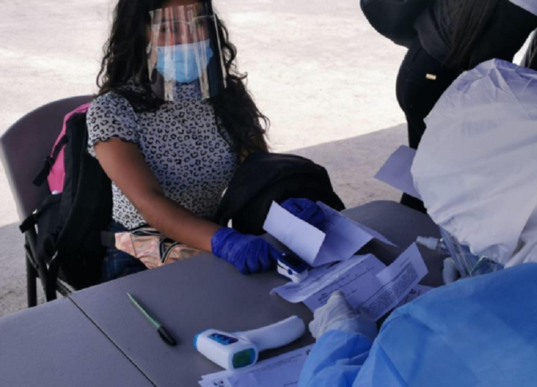 El Instituto Nacional de Salud destacó el cerco epidemiológico impuesto en Arequipa para contener la pandemia. ANDINA/Difusión