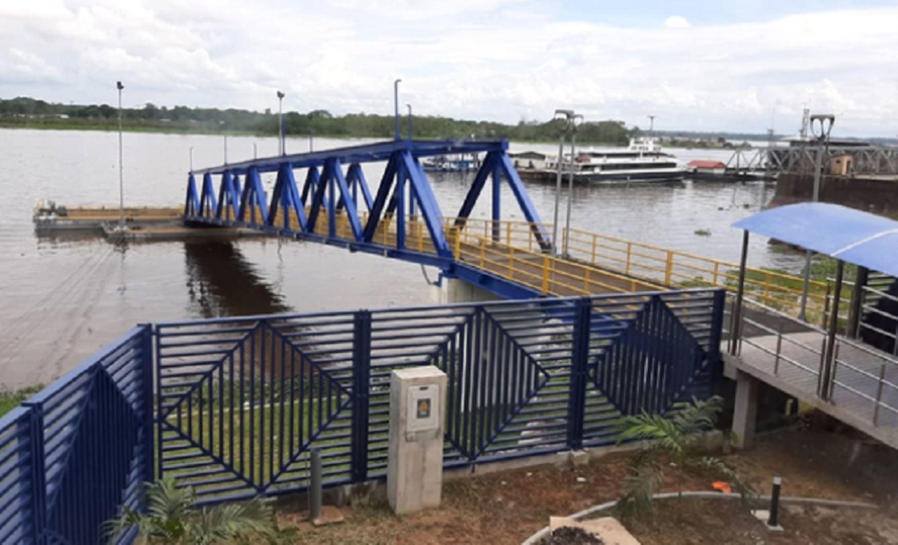 La construcción del nuevo terminal de pasajeros en Iquitos finalizó y está listo para entrar en operaciones en febrero próximo para beneficio de 500,000 ciudadanos de la Amazonía peruana. Foto: MTC.