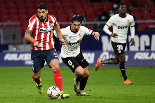 España: Atlético de Madrid y Valencia se enfrentan por LaLiga Santander