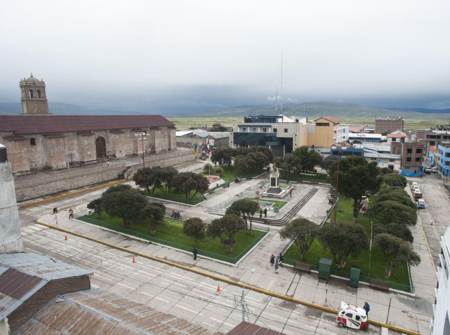 Avanza la elaboración del expediente técnico para la construcción del futuro Sistema integral de agua potable y desagüe para la ciudad de Yauri, capital de la provincia cusqueña de Espinar.