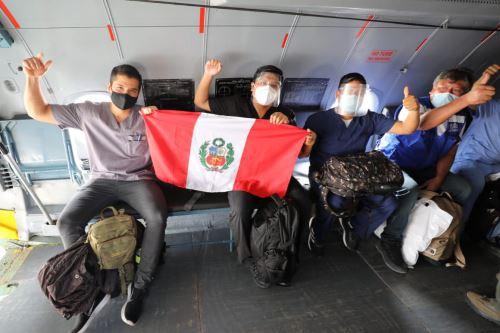 Brigadas de EsSalud refuerzan lucha contra el Covid-19 en Iquitos y Huanuco