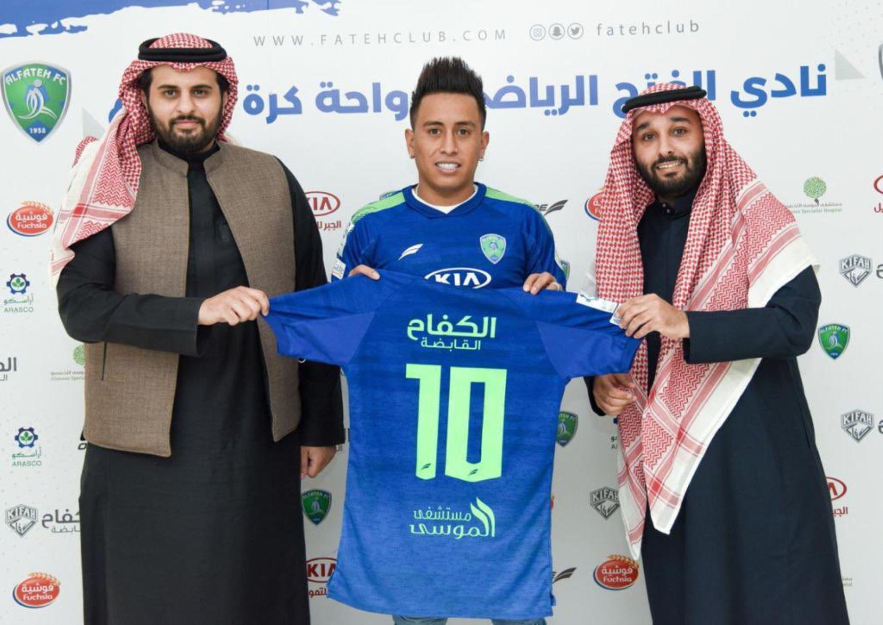 Christian Cueva se convirtió en el nuevo jugador del Al Fateh de la liga de Arabia Saudita