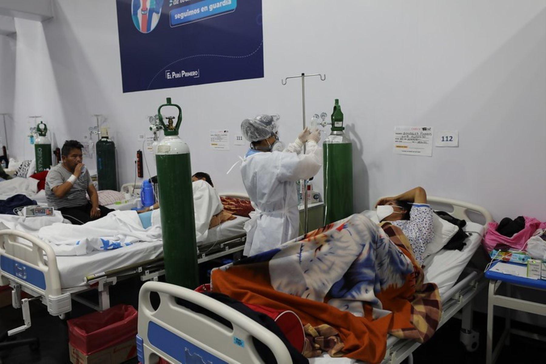 Colegio Médico propone cuarentena rígida en Huánuco, Amarilis y Tingo María por alto número de casos de coronavirus (covid-19) en dichas ciudades. ANDINA/Difusión